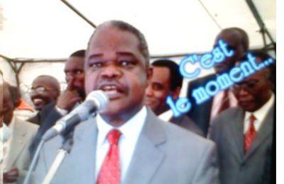 Ange Edouard Poungui suspendu de l'UPADS pour avoir rencontré Sassou N'Guesso