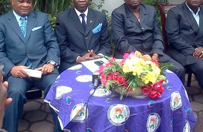 Okombi, Kolelas et Mabio appellent à lutter avec force...mais sans violence!