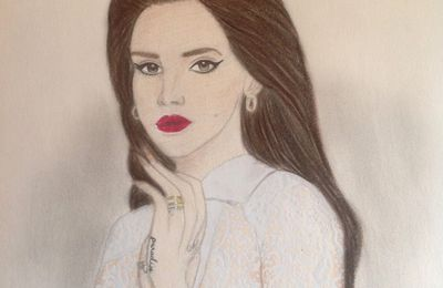 #Drawing : Lana Del Rey (N°2)