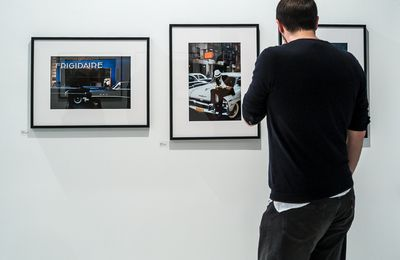 Photo : Ernst Haas à la galerie Les Douches