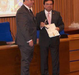 el Profesor Dr  Rafael Ruiz Calatrava à l'honneur