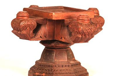 Chettinad Style Carved Stand