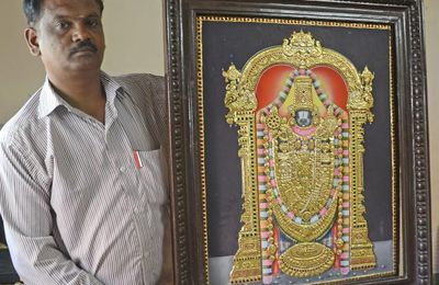 Award Winning Tanjore Paintings