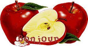 Tarte aux pommes , miel et amandes