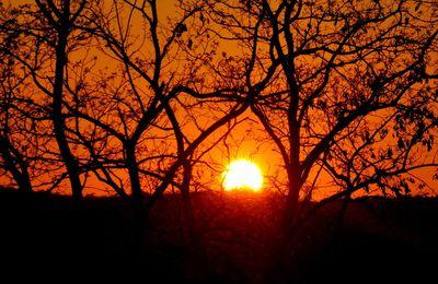 Soleil rouge égal ....