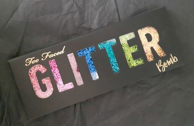 La palette Glitter bomb de chez Too Faced