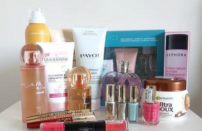 Haul: Mes derniers achats: Biotherm, Courrèges, l'oréal, Payot...