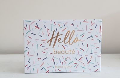 Birchbox de Septembre: hello beauté