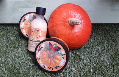 Vanilla pumpkin: la collection automnale de chez The body shop