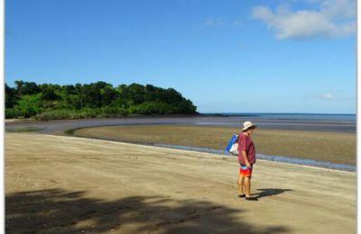 La plage de Bambo-Ouest
