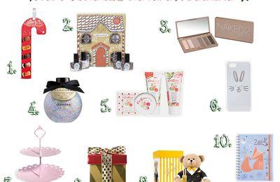 Notre sélection de cadeaux de Noël : femme