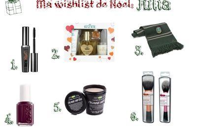Ma Wishlist de Noël ~ Julia