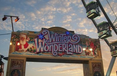 A la découverte de : Winter Wonderland, à Londres !