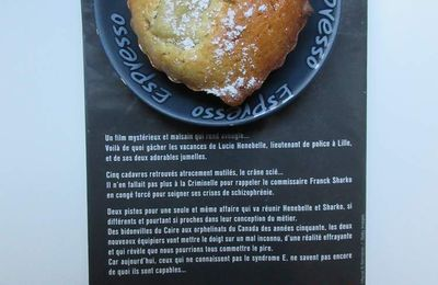 Un livre, un goûter, un thé #1 : Muffin à la rhubarbe