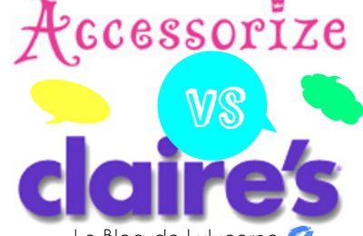 Accessorize VS Claire's