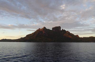 La belle montagne de Bora-Bora