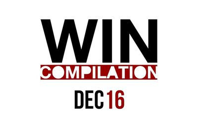 Compilation des winners Decembre 2016