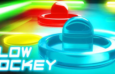 Glow Hockey Online - Jeu Flash