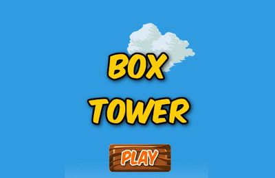 Box Tower - Jeu Flash