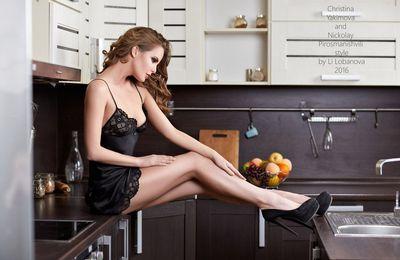 Ces jolies filles qui ne passent pas inaper ues 42 photos for Le bonheur dans la cuisine