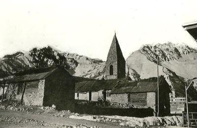 Tinée et Vésubie au fil du temps : Auron , l'église Saint Erige