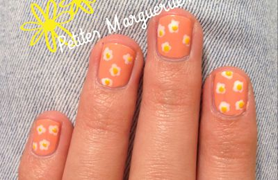 Tuto Nail Art n°5: Petites Marguerites