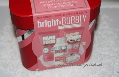 Gewinne ein Soap & Glory Bright and Bubbly Set