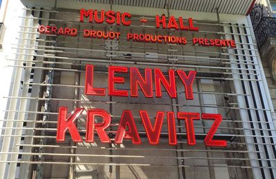 Live Report : Lenny Kravitz à l'Olympia