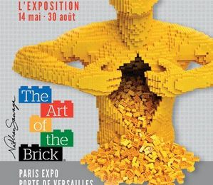 Exposition : The Art of the Brick à la Porte de Versailles