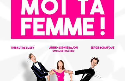 """Prête moi ta femme"" au théâtre BO Saint Martin"