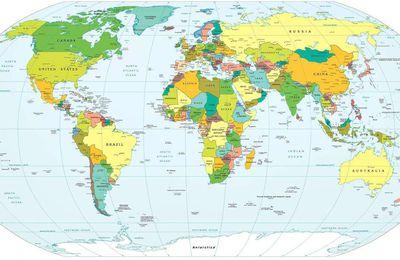 Les territoires de la mondialisation - typologie