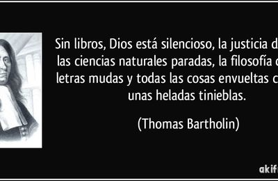 Letras, Libros y Palabras...