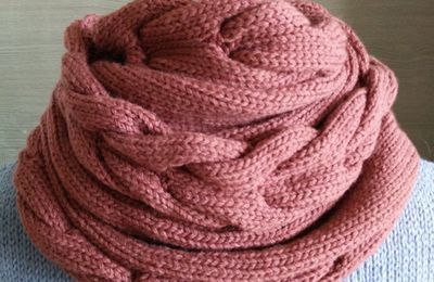 Grand Snood et Mitaines