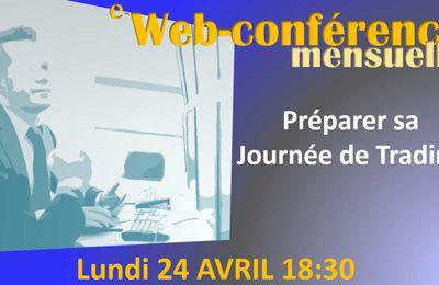 La webconférence mensuelle EWI: Préparer sa journée de trading