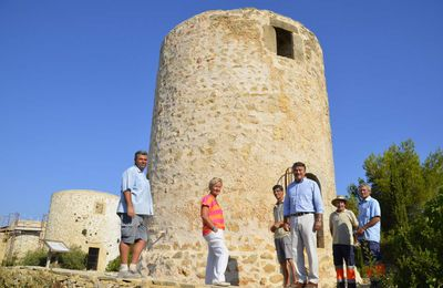 El molino de viento número 2 de la plana de Xàbia será rehabilitado