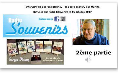 J'ai été interviewé sur Radio Souvenirs, une station radio locale - 2e partie