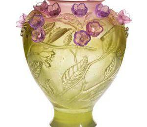 Daum... fleurs et cristal !