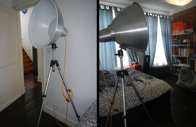 Ma version de la lampe photographe