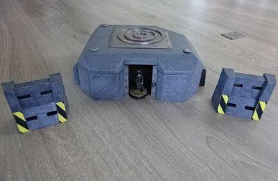 Décors (bunker et cratères)