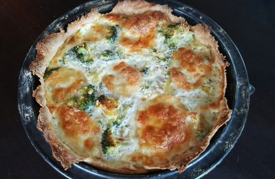 Quiche Brocolis Mozzarella