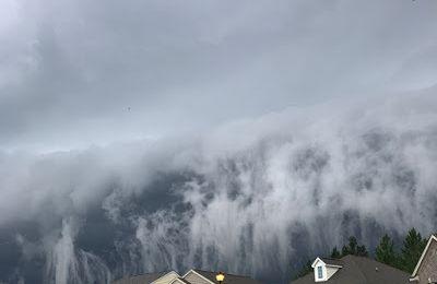 USA: Tsunami nuageux impressionnant