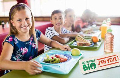 83% de parents favorables à l'alimentation bio dans les cantines scolaires