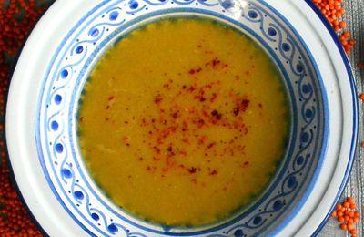 Mercimek Corbasi: soupe turque de lentilles corail
