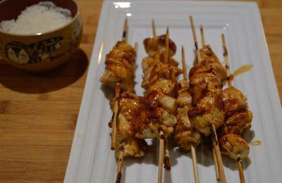 Yakitori de poulet