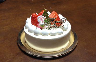Le gâteau noël Japonais