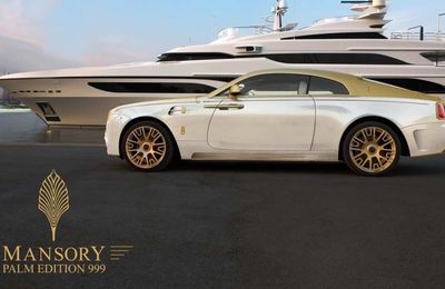 Mansory Palm Edition 999 - la Wraith recouverte d'or 24 carats