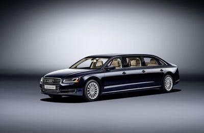 Audi A8 L Extended - une réponse à la S600 Pullman