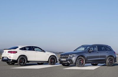 Mercedes GLC 63 & 63 S AMG: 510 chevaux de pure folie!
