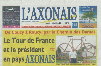 De Coucy à Roucy, par le Chemin des Dames.