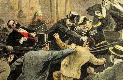 24 juin 1894 - Assassinat de Sadi Carnot
